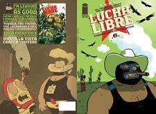 LUCHA LIBRE ETIQUETTE BOOK 6 FRISSEN GOBI WITKO GRAPHIC NOVEL MUTTPOP COMIC