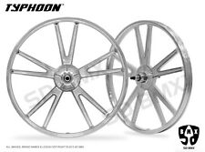 SD BMX -SPECIAL- SILVER TYPHOON Mag Wheel Lowrider Dragster Bike Skyway Motomag