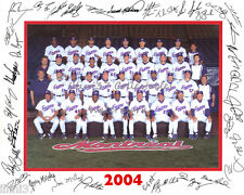 2004 MONTREAL EXPOS BASEBALL 8X10 TEAM PHOTO PICTURE