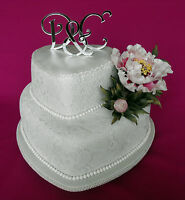New Acrylic Monogram Cake Toppers set wedding Birthday cake toppers laser cut
