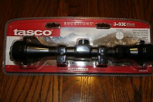 Tasco Bucksight 3-9x40 Rifle scope 39X40SPLE with CF500 reticle