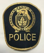 Canadian Pacific Railway Police Canada Cloth Patch