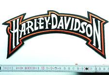 Aufnäher Aufbügler Patch Harley Davidson Rückanaufnäher Backpatch groß
