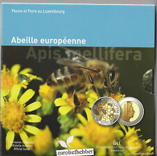 Luxemburg      5  Euro 2013    PP  silver-nordic gold coin    Europese honingbij