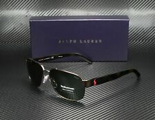 RALPH LAUREN POLO PH3089 927271 Semishiny Dk Brown Green 60 mm Men's Sunglasses