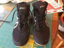 asics wrestling shoes 11 black