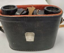 Vintage Russian БПП 8x30 Binoculars Made in USSR No 7578860 With Leather Case