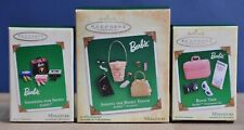 HALLMARK Keepsake BARBIE: Miniatures ~ 2003, 2004, 2005 ~ NRFB