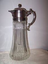 VINTAGE FB ROGERS SILVERPLATE WATER / ICE TEA / CLARET WINE DECANTER - ITALY