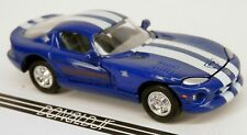 Racing Champions 1996 Dodge Viper GTS Coupe Blue PACE CAR '96 MOPAR 1/64 Scale