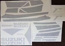 SUZUKI RGV250 VJ21 MODEL BLACK VERSION ONLY FULL PAINTWORK DECAL KIT