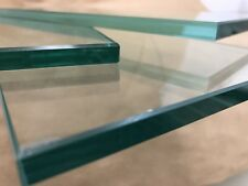 """Floating Shelf 6"""" X 18"""" Rectangle 3/8"""" Clear Tempered Glass"""