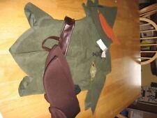 OFFICIAL DISNEY PETER PAN FANCY COSTUME TUNIC PANTS HAT YOUTH SZ MEDIUM 7/8 New