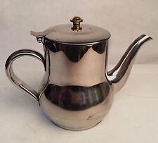 NEW Home Kitchen Restaurant Stainless Steel Teapot Tea Coffee Pot 1L (32oz) UK