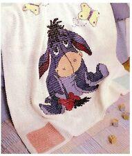 (62) Baby Crochet Pattern for Eeyore Blanket