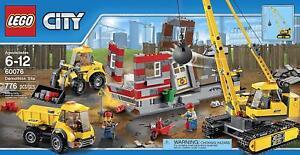 LEGO 60076 City Demolition Site Brand New & Sealed