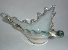 Vintage KIRCH Heavy Art Glass Bowl Made in Ukraine