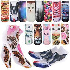 3D Unisex Cartoon Damenssöckchen Schuhe Söckchen Socken Printed Rutschfest Mode