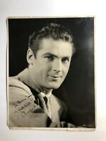 CHARLES FARRELL - INSCRIBED PHOTOGRAPH SIGNED **1932** (13 Inches x 11 Inches)