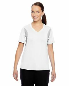 Team 365 T-Shirts Womens Short-Sleeve Athletic V-Neck Tournament Jersey TT10W