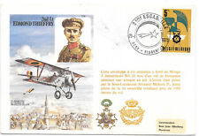 R.A.F.& BELGIUM SPECIAL ILLUSTRATED COVER;TRIBUTE TO 2Lt EDMOND THIEFFRY;21/1/73