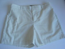 BANANA REPUBLIC Dress Shorts Women's size 6 Off White/Navy