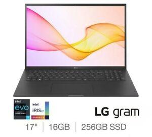 "LG Gram Intel i7-1165G7 16GB RAM 256 SSD  17"" S Light Laptop 17Z90-K.AA72A1"