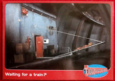THUNDERBIRDS - Waiting for a Train? - Card #51 - Cards Inc 2001