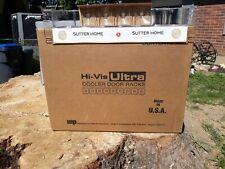 Case of 12 Hi-Vis Hvb-7 Ultra Cooler Door Beverage Racks display Martin Paul 187