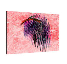 """Image Paul Sinus Series Enigma On Canvas Timeless Pink Purple Red Black 47x31"""""""