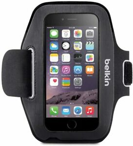 BELKIN Apple Gym Running Jogging Sports Armband Holder For iPhone 6 / 6S | Black