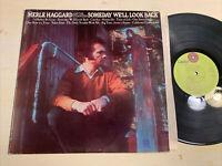 Merle Haggard Someday We'll Look Back LP Capitol VG/VG+