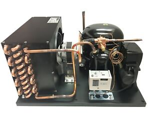 Outdoor Condensing Unit, 7/8 HP, High Temp, R404a, 115V (Embraco NT6222GKV1)