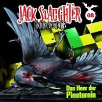JACK SLAUGHTER-TOCHTER DES LICHTS - 08: DAS HEER DER FINSTERNIS CD HÖRSPIEL NEW