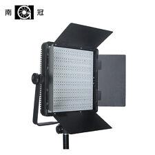 Nanguang CN-600SA LED Studio Panel Light with Barndoors and V-mount Ra95 5400K