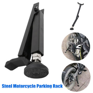 Motorcycle Tyre Support Frame Parking Auxiliary Repair Rack Floor Holder Stand