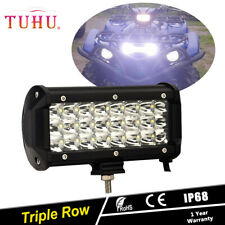 """7""""INCH Waterproof ATV Marine Boat Offroad LED Light Bar For Yamaha Grizzly 660"""