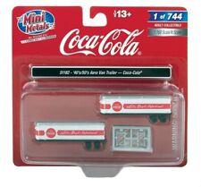 N Scale Coca Cola trailers (2 pack)