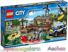 LEGO 60068 City Banditenversteck im Sumpf Crooks' Hideout La cachette des bandit