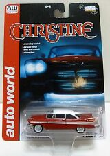 "Auto World ""CHRISTINE"" Silver Screen Machines Movie Car 1:64 Diecast Car"