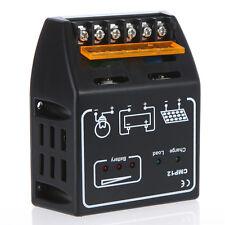 UK 20A 12V/24V Solar Panel Charge Controller Battery Regulator Safe Protection