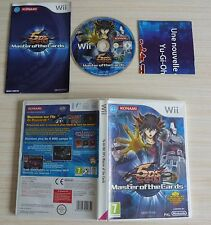 JEU PAL NINTENDO WII YU GI OH 5D'S MASTER OF THE CARDS COMPLET FRA SANS CARTE