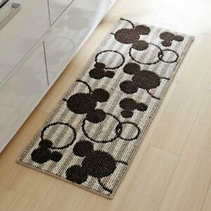 DISNEY Mickey Motif Kitchen Mat Bathroom Mini Rug Floor Door Home Gift E7354