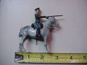 Vintage W. Britain The Red Army Cavalry Officer From Set No. 2028
