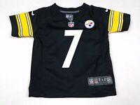 Ben Roethlisberger #7 Pittsburgh Steelers NFL Nike On Field Toddler Jersey 2T