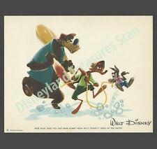 Disney Studios Song of the South Brer Brer Fox Rabbit Fan Card circa 1949
