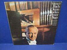 Bach Organ Favorites Vol.3 E.Power Biggs Columbia Records  LP