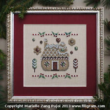Sale 30% Off Filigram x-stitch chart-Christmas Cookies Collection-Cookies House