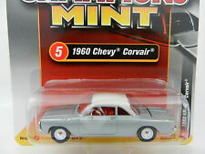 2017 RC 1:64  RACING CHAMPIONS MINT 2A = Silver 1960 Chevy Corvair *NIP*