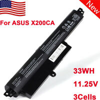 Laptop Battery For ASUS Vivobook X200CA A31N1302 A31LM9H F200CA 3Cells 11.25V US